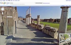 Pompei 3D grazie a Google Street View