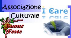 Logo associazione i care buone feste