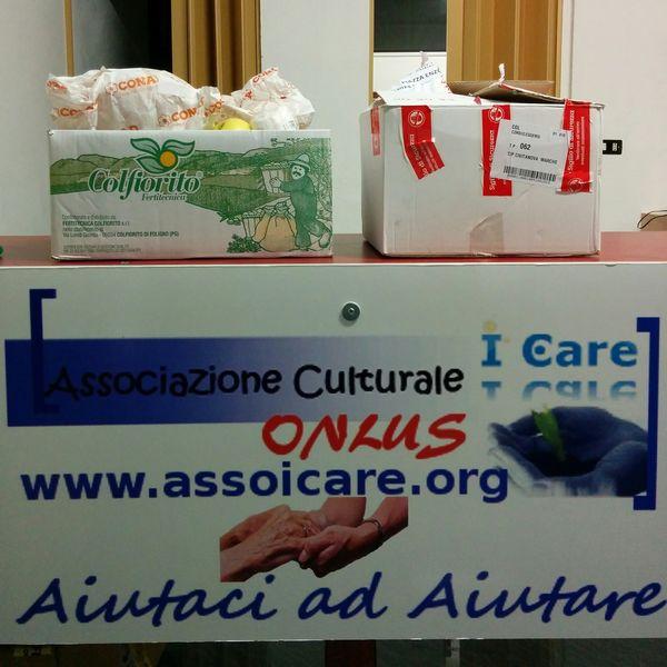 """Associazione """"I Care"""" Onlus Cacciatori di Briciole per le famiglie bisognose"""