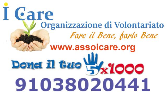 5x1000 all'Associazione di Volontariato I Care