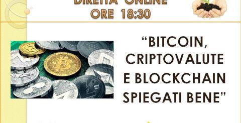 Webinar Associazione I Care Bitcoin Criptovalute Blockchain